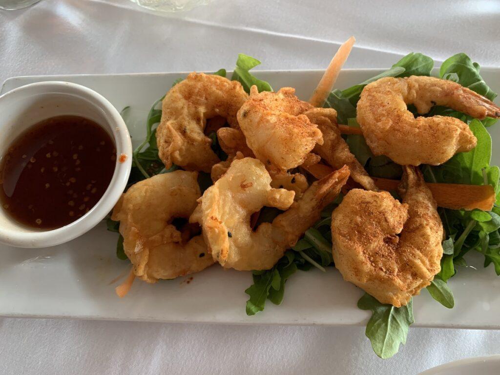 Shrimp Pakora from DeWolf Tavern