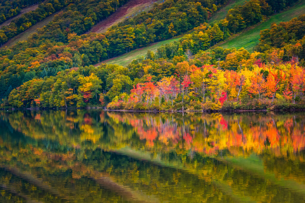 Echo Lake; Franconia Notch State Park; New Hampshire