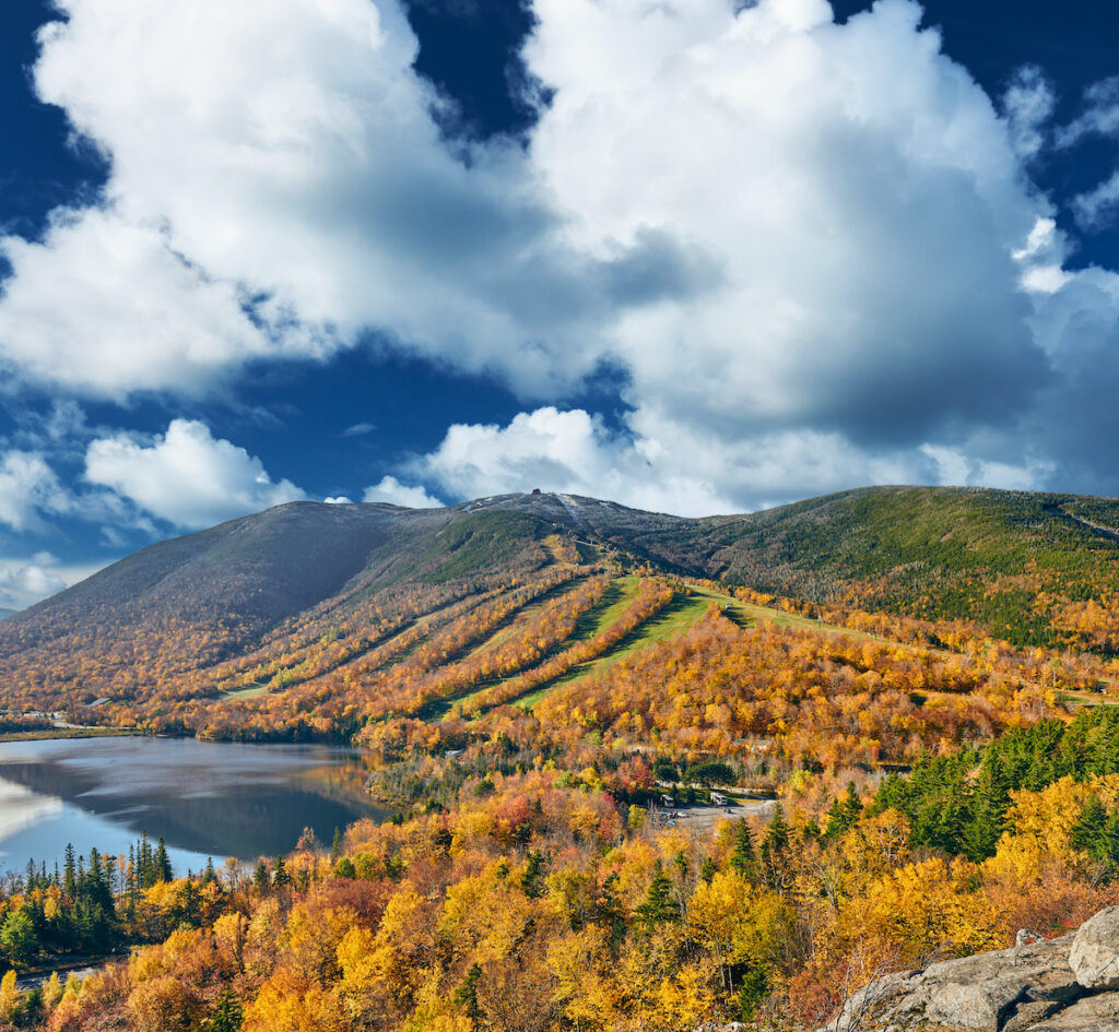 View from Artist's Bluff Trail, Franconia Notch State Park, New Hampshire