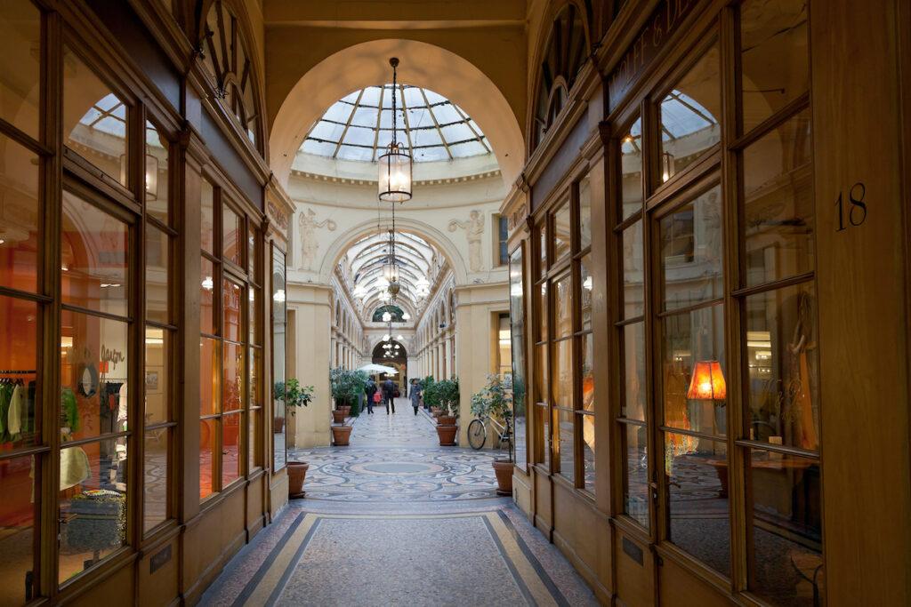Shops at Galerie Vivienne; Paris, France