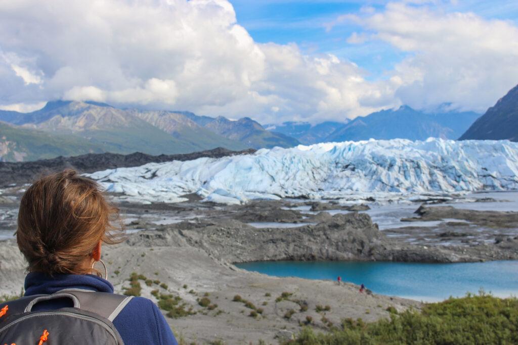 Matanuska Glacier Approach in Alaska