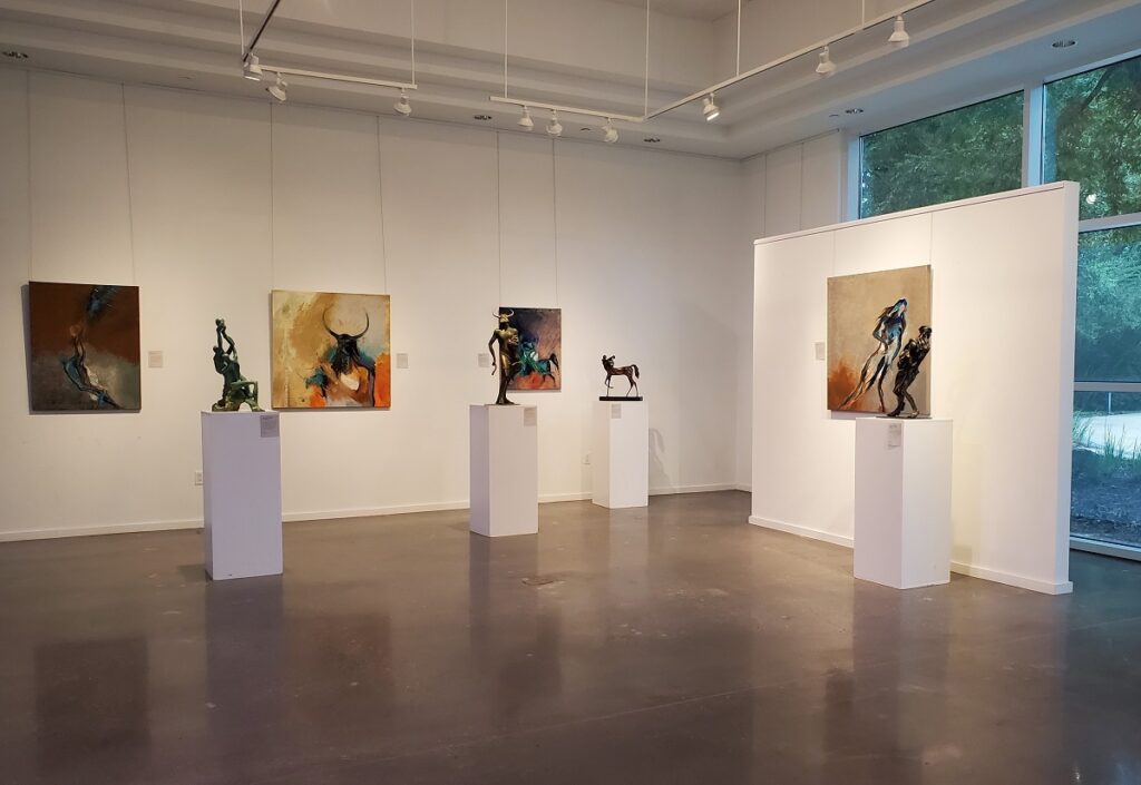 Exhibition of the Glade gallery.