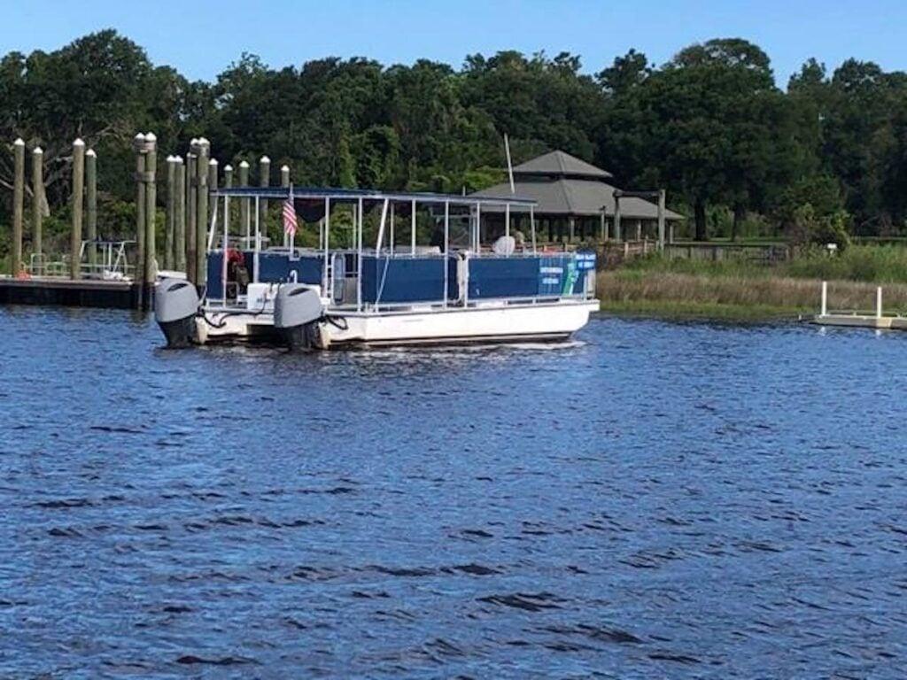 Hammocks Beach state Park Ferry.