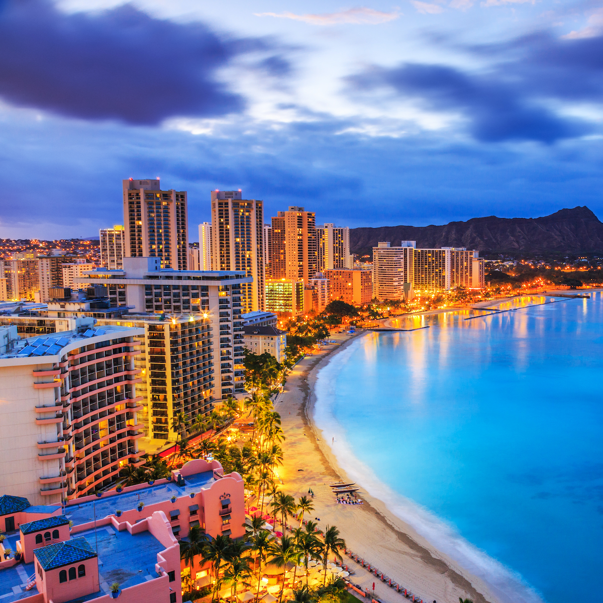 Hawaii shoreline