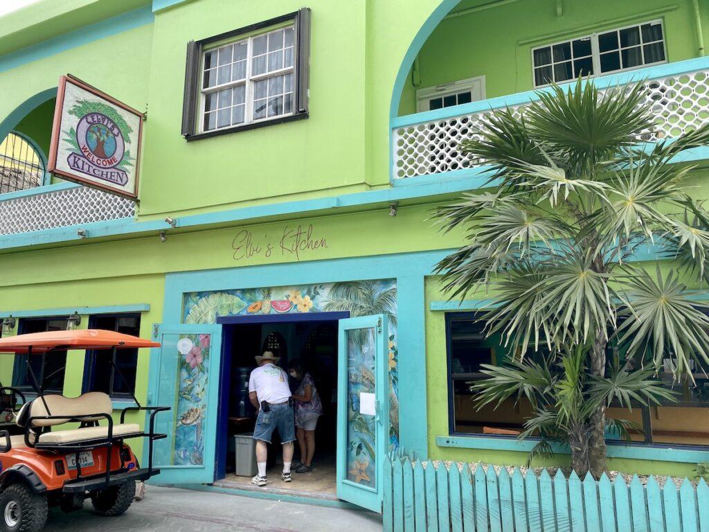 Elvi's Kitchen, a restaurant in San Pedro, Belize.