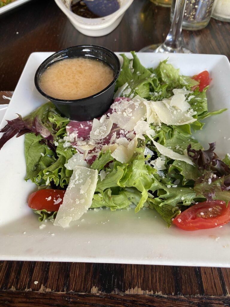 Salad at Antonella's Italian Restaurante.
