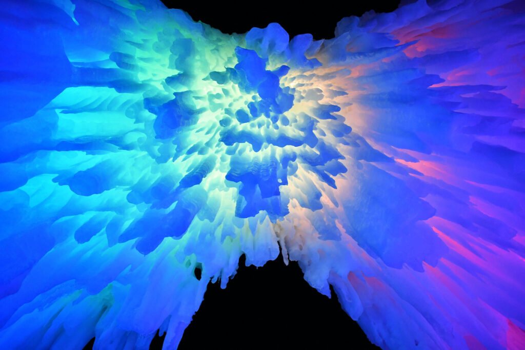 Ice Castles; North Conway, New Hampshire