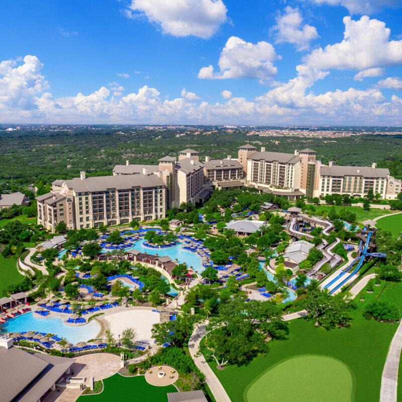 View of the JW Marriott San Antonio HiIl Country Resort & Spa