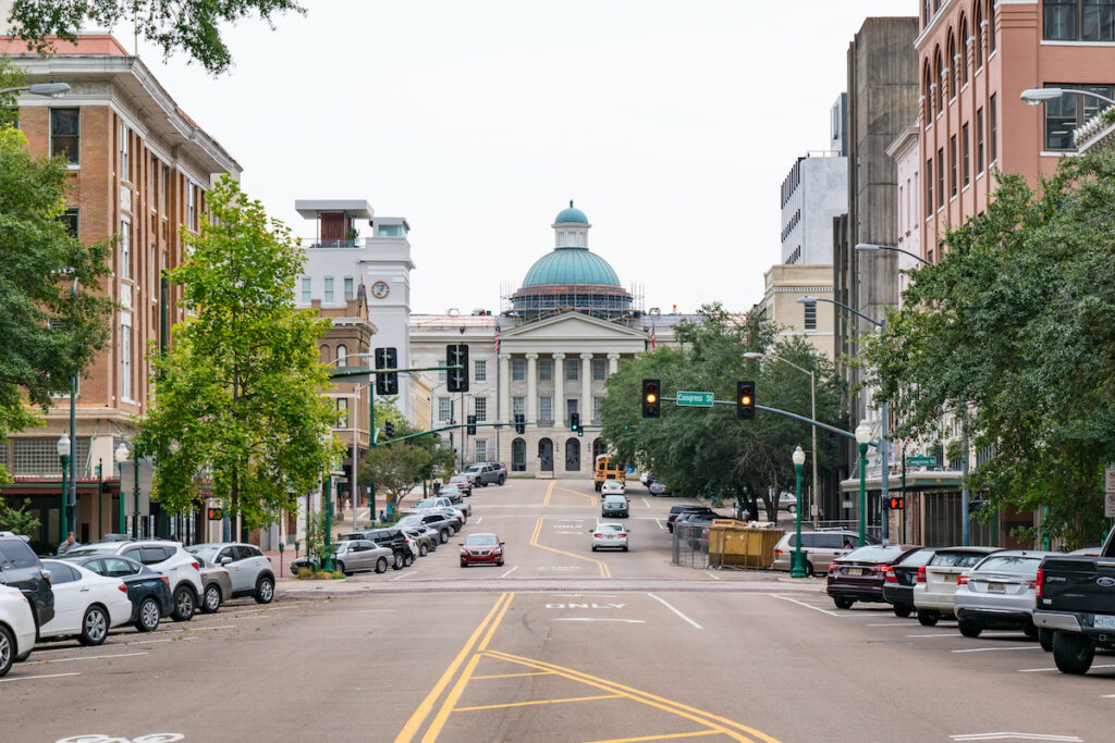 Old Capitol in Jackson, Mississippi