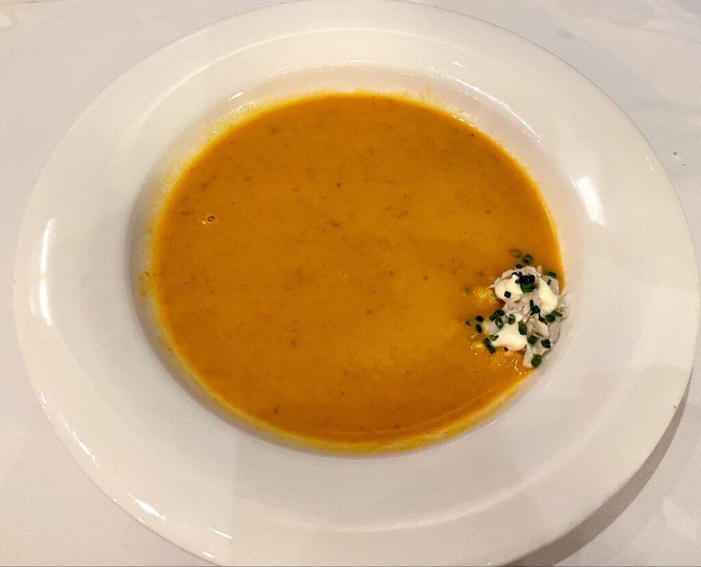 Kimball's Kitchen Carolina crab soup.