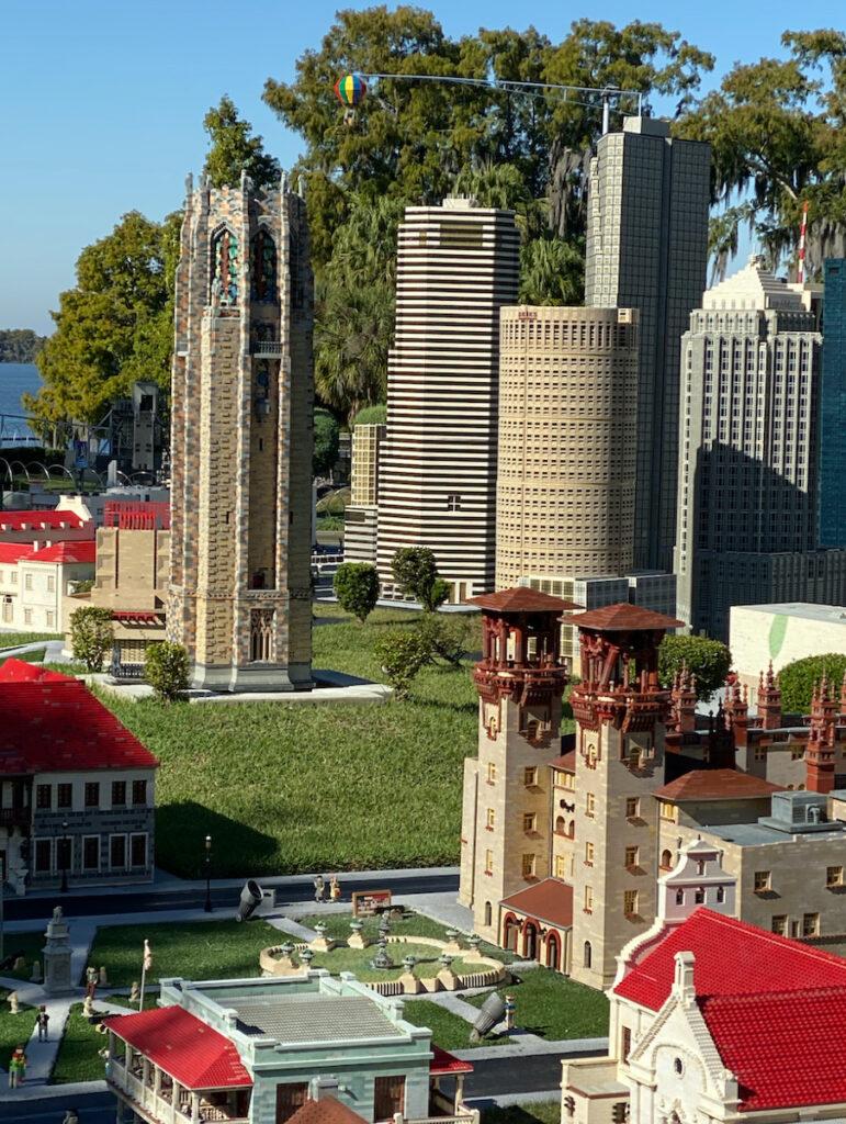Miniature city display at LEGOLAND, Florida