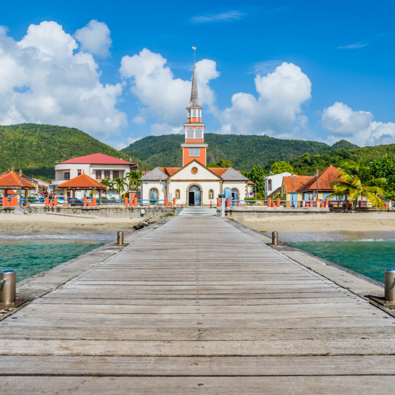 Martinique in the Caribbean