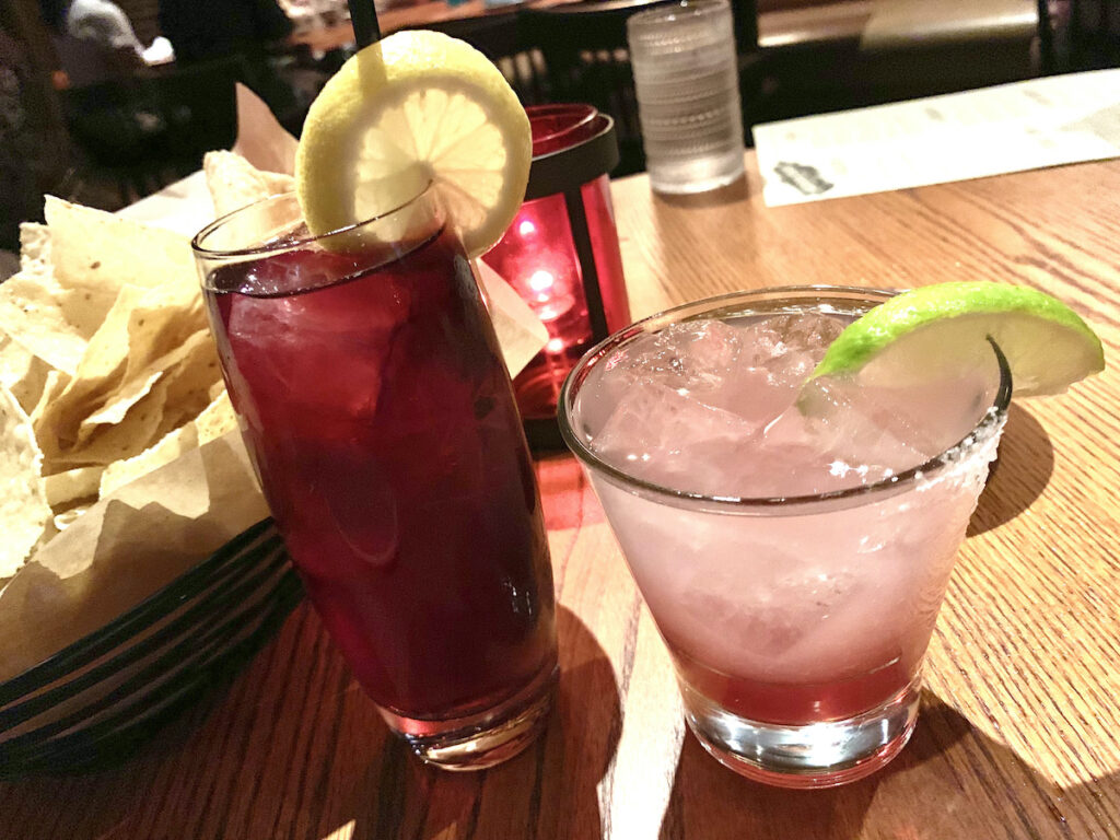 Mexican cocktails.