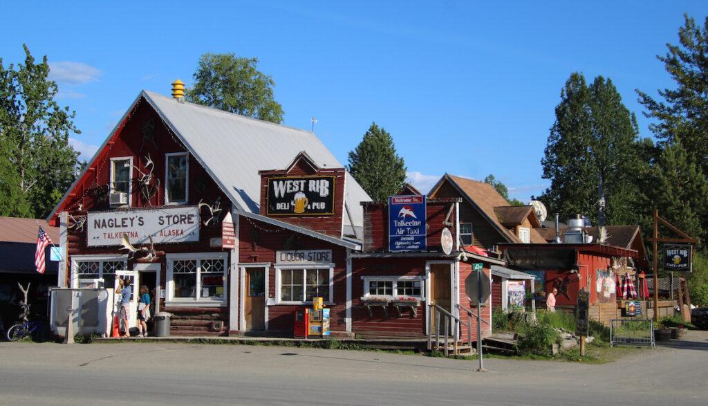 Nagley's Grocery store in Talkeetna, Alaska