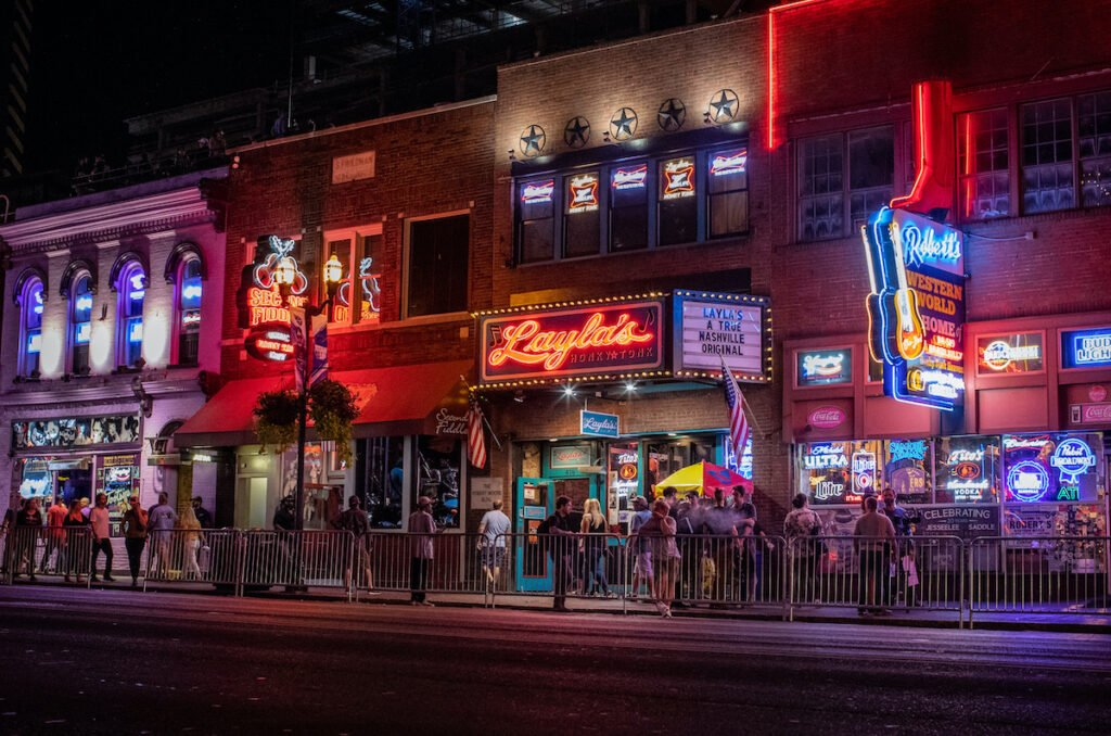 Layla's on Broadway in Nashville, Tennessee