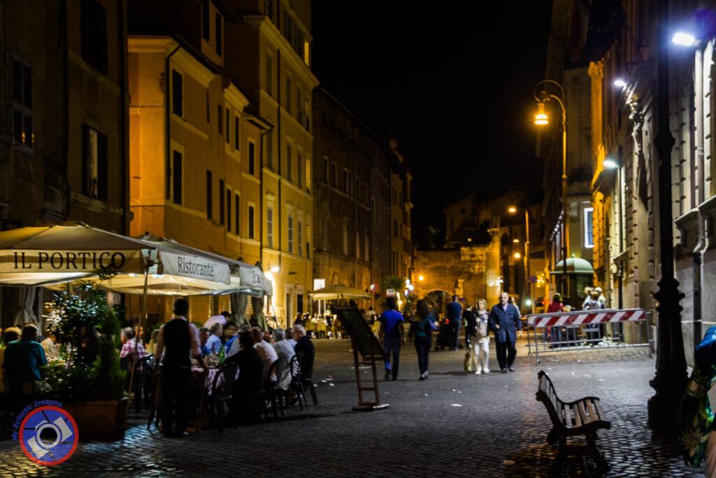 Night Life in the Jewish Ghetto, Rome