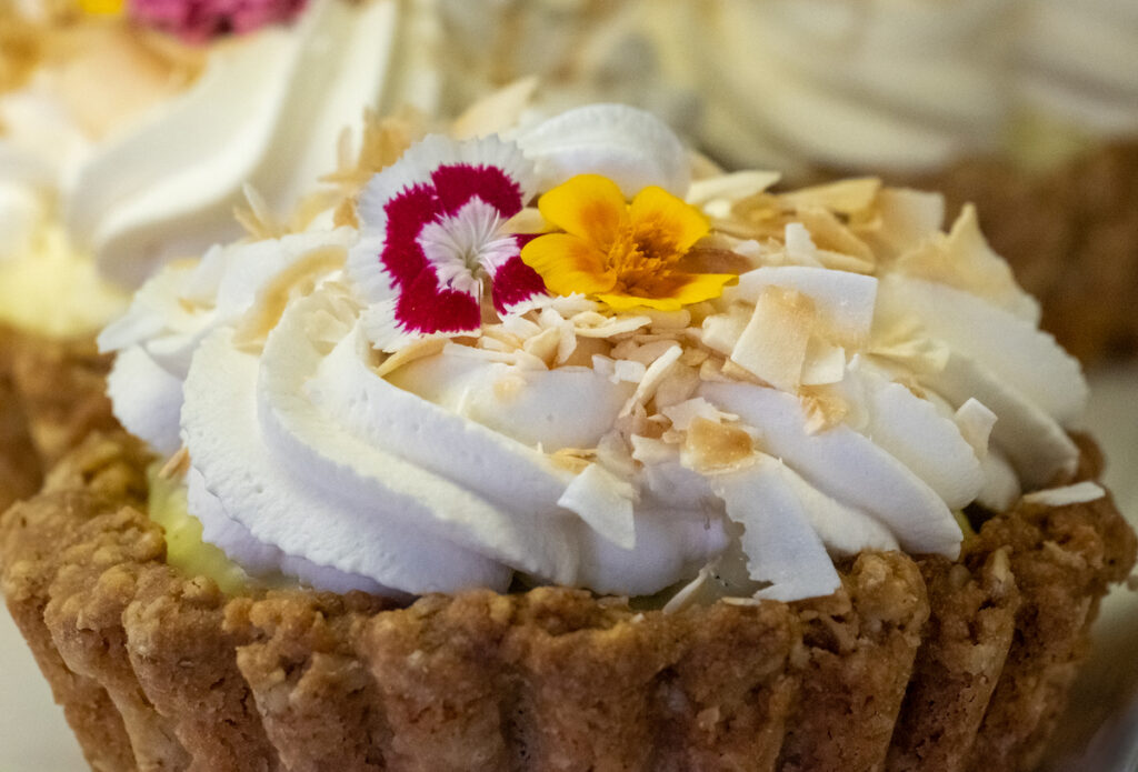 A tasty treat at the Noisette Pastry Kitchen.