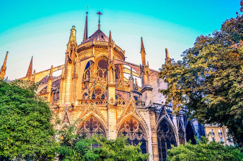 Notre Dame at Sunrise: Paris, France