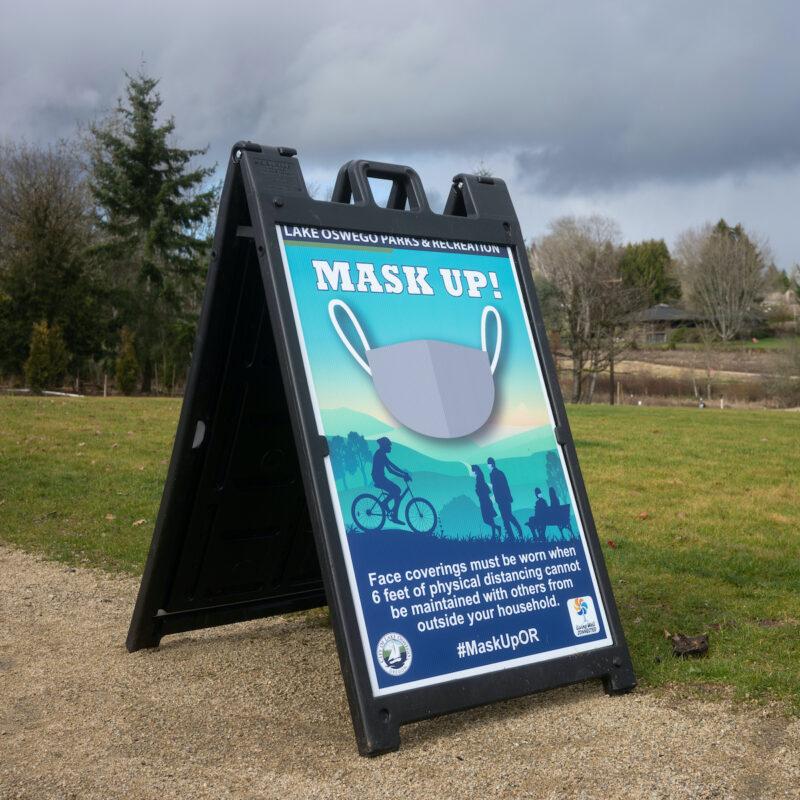 Oregon mask sign