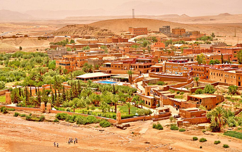 "Ouarzazate, Morocco; ""The Gateway the to Deseart"""