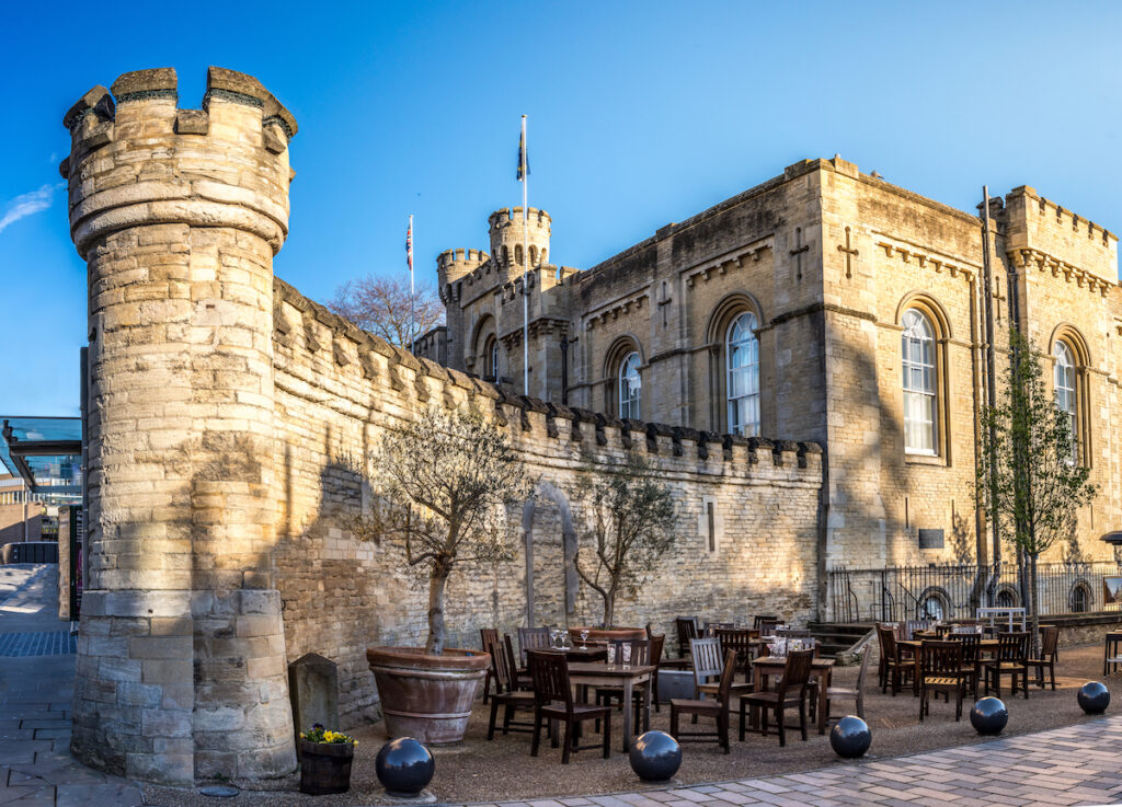 Oxford Castle fortification