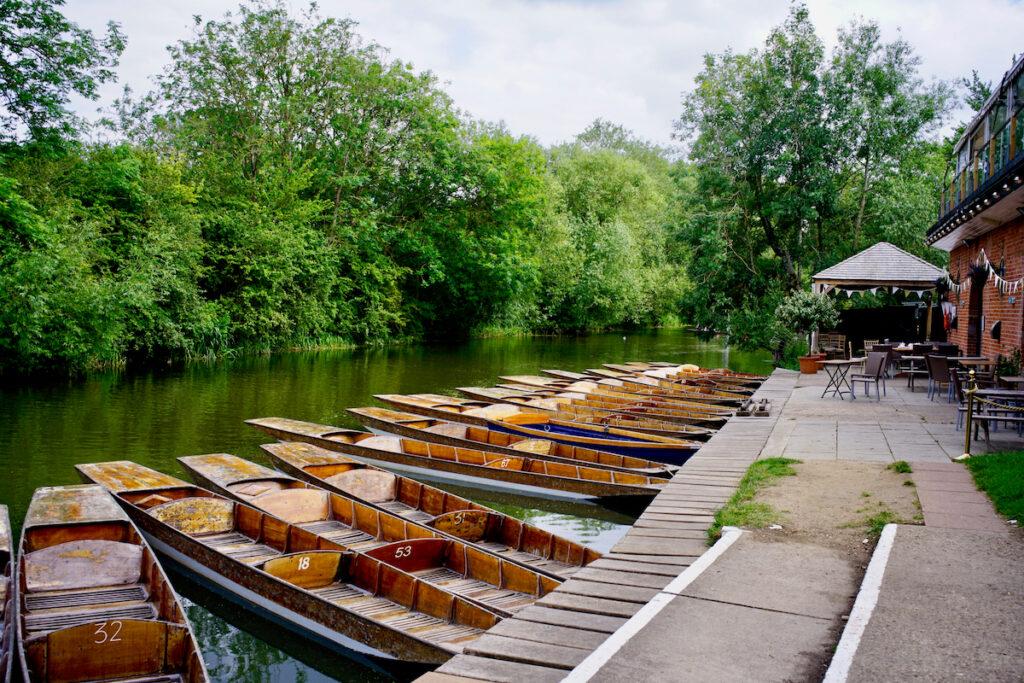 Oxford, England river punts