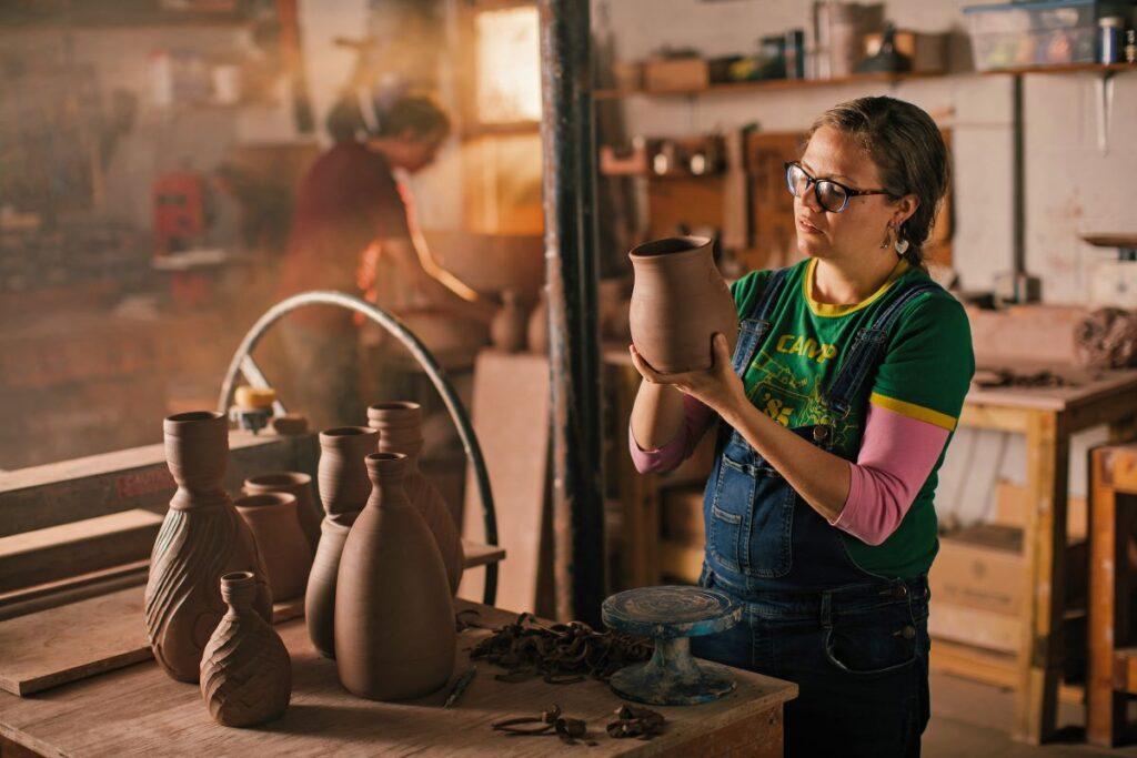 Page Pottery; Burnsville, North Carolina