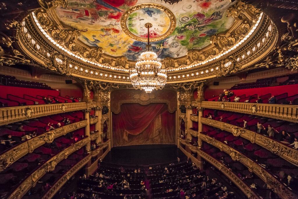Palais Garnier, Paris, France.