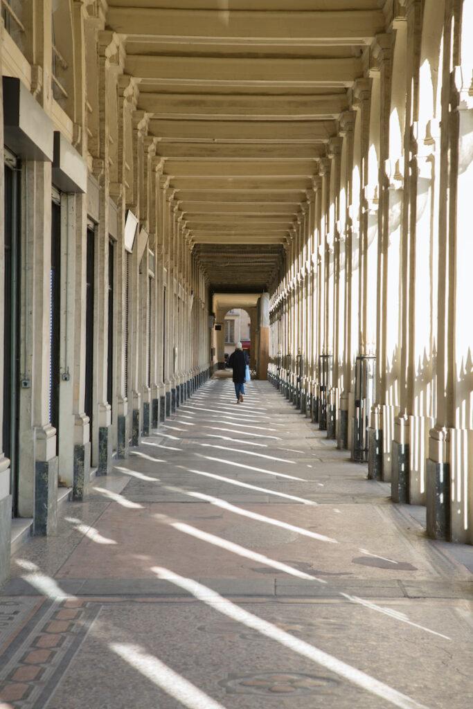 Shopping Arcade at Palais Royal; Paris, France