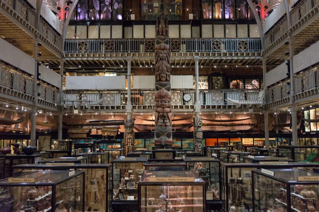 Pitt Rivers Museum, Oxford, England