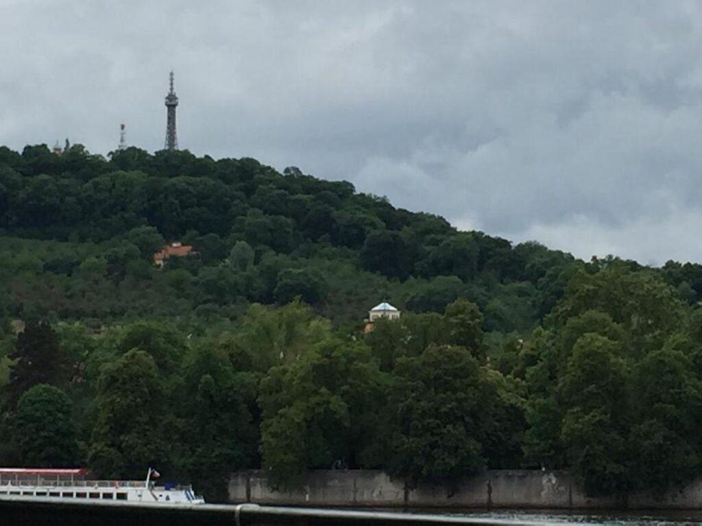 Petrin Hill in Prague.