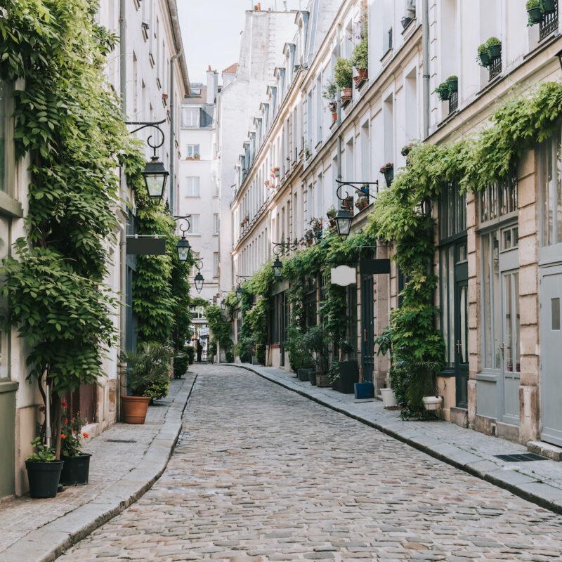 Quiet Paris Street