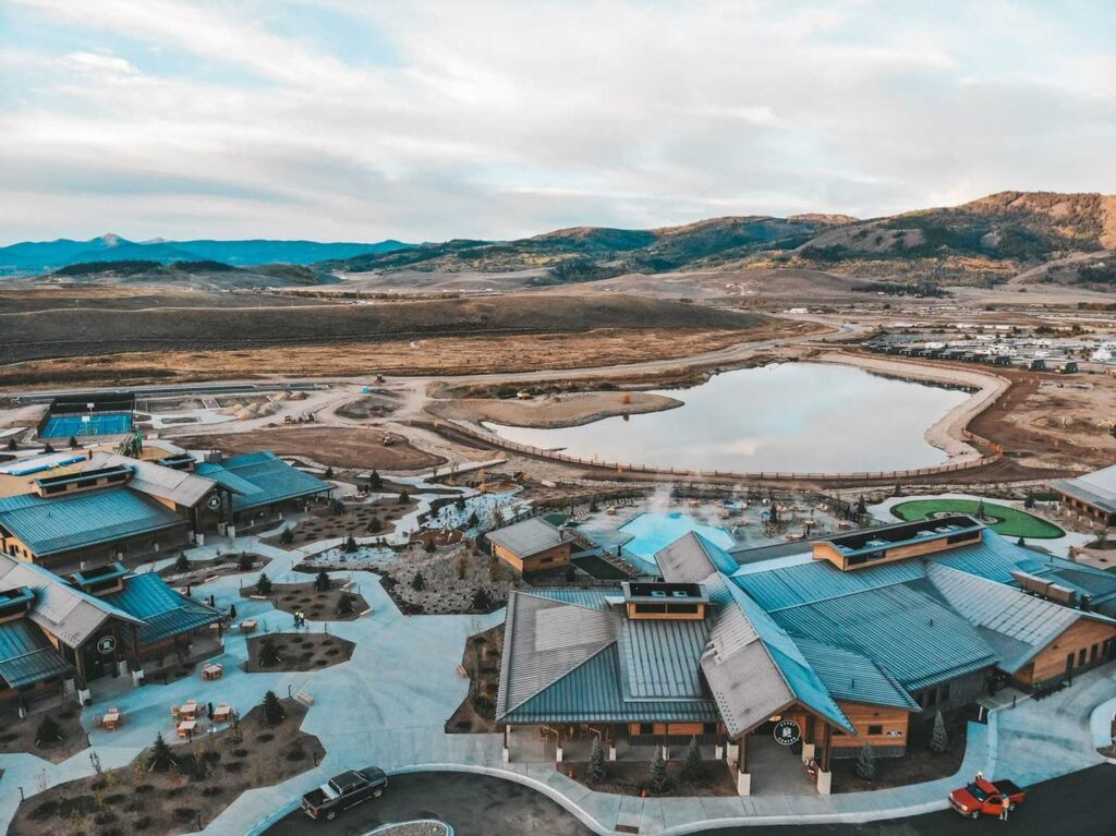 River Run RV resort in Granby, CO
