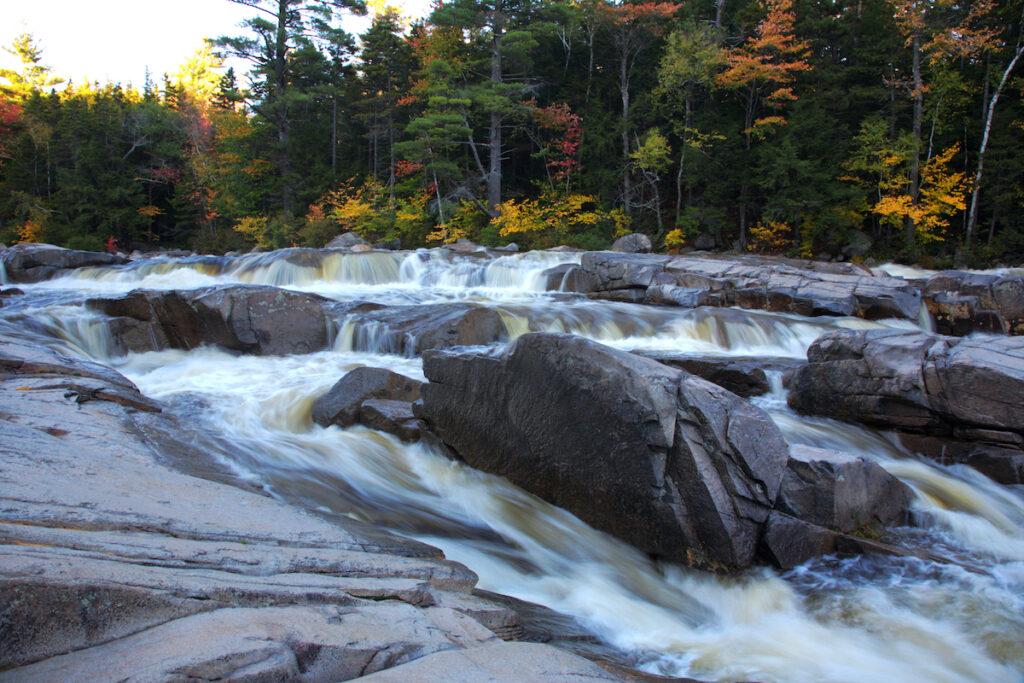 Rocky Gorge Scenic Area; near Albany, New Hampshire