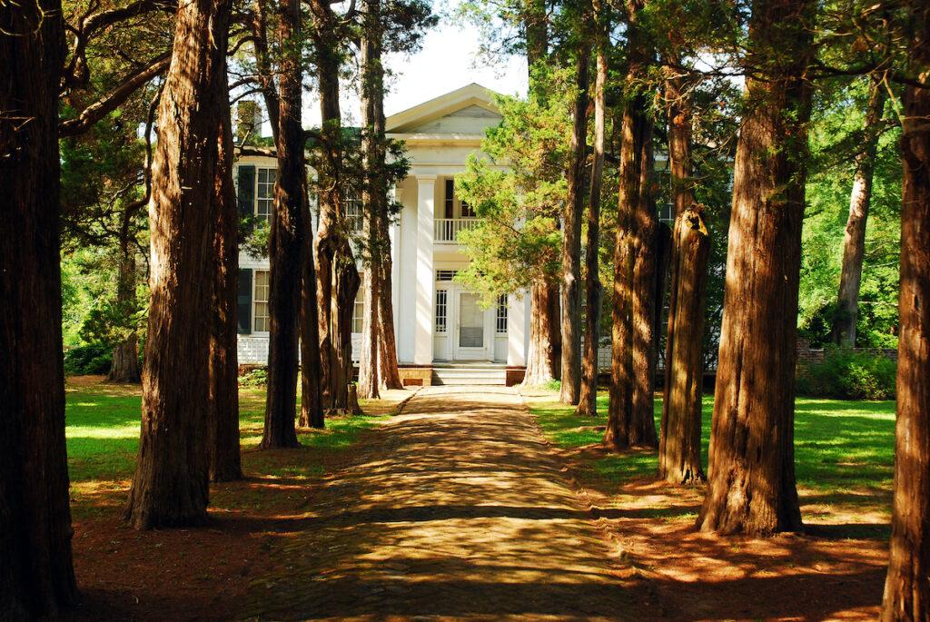 Rowan Oak, the former home of William Faulkner; Oxford, Mississippi