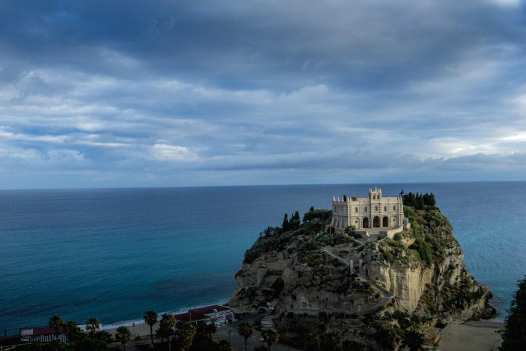 Sanctuary of Maria dell'Isola, Tropea Italy.