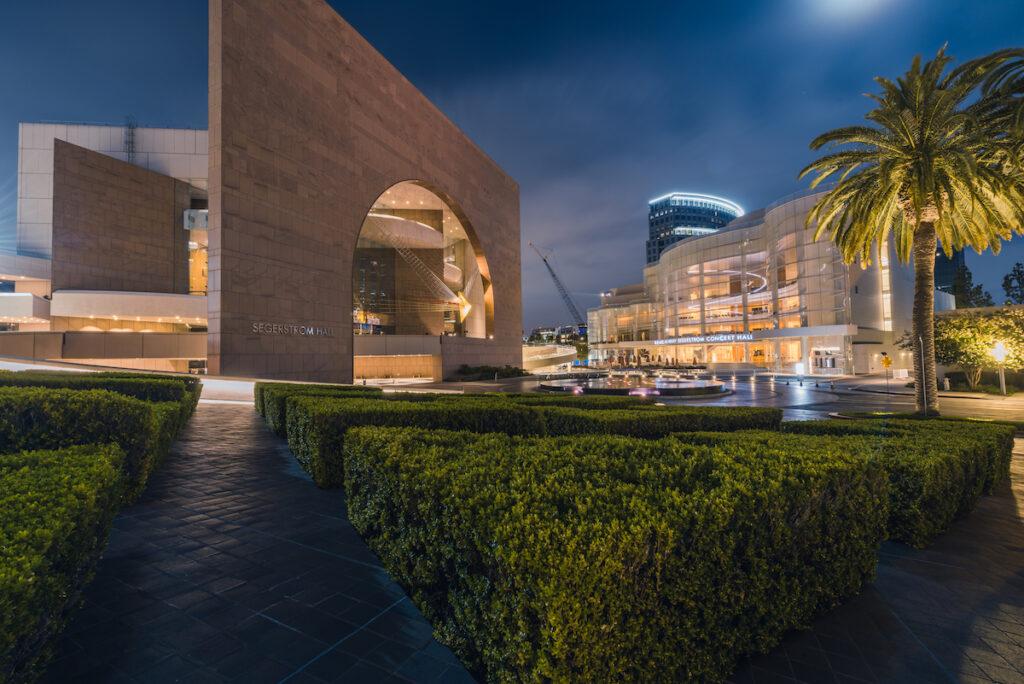 Segerstrom Center for the Arts; Costa Mesa, California