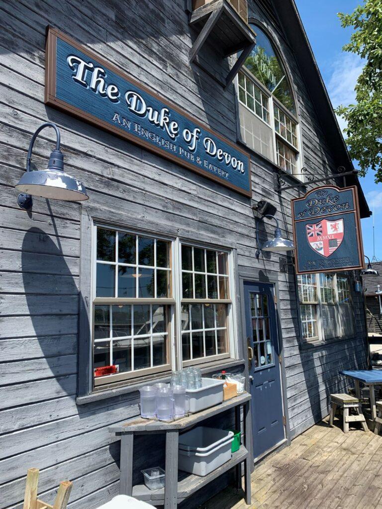 The Duke of Devon exterior.