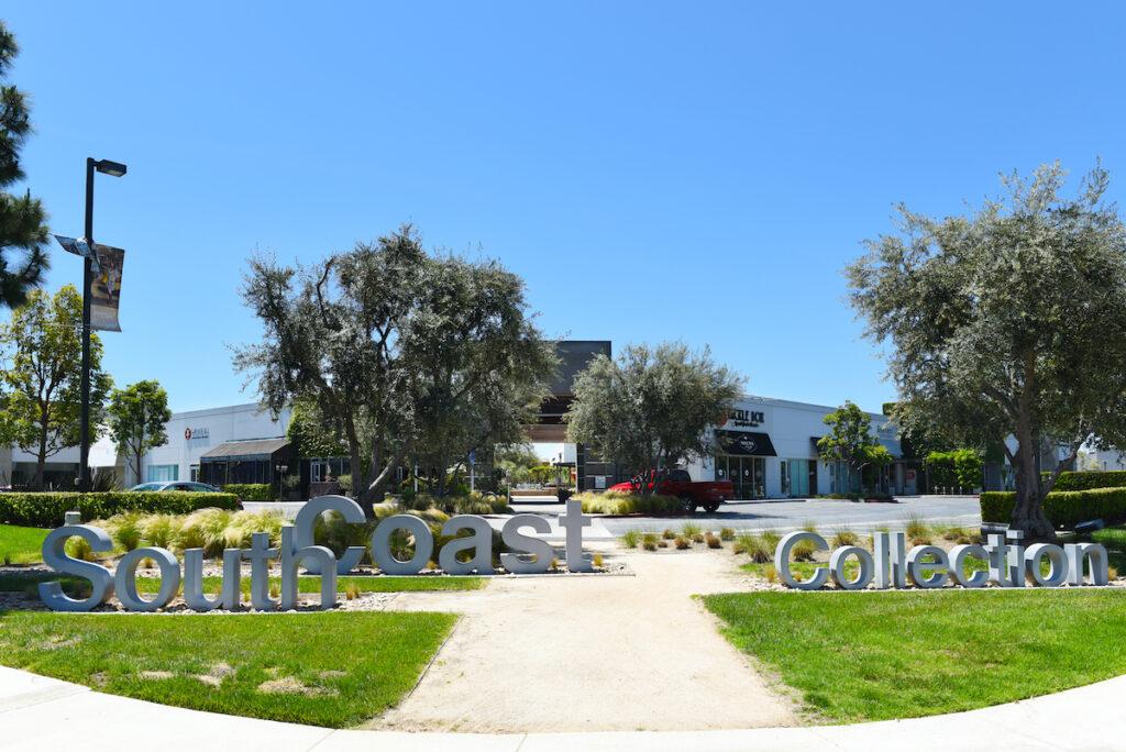 South Coast Collection, California
