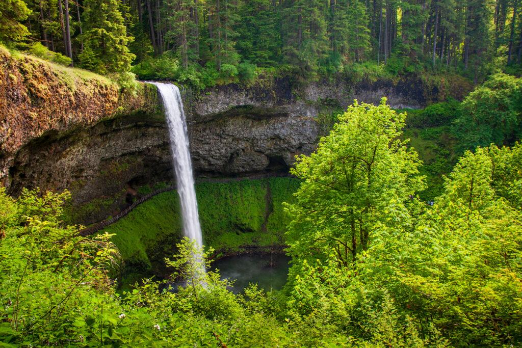 South Falls at Silver Falls State Park.
