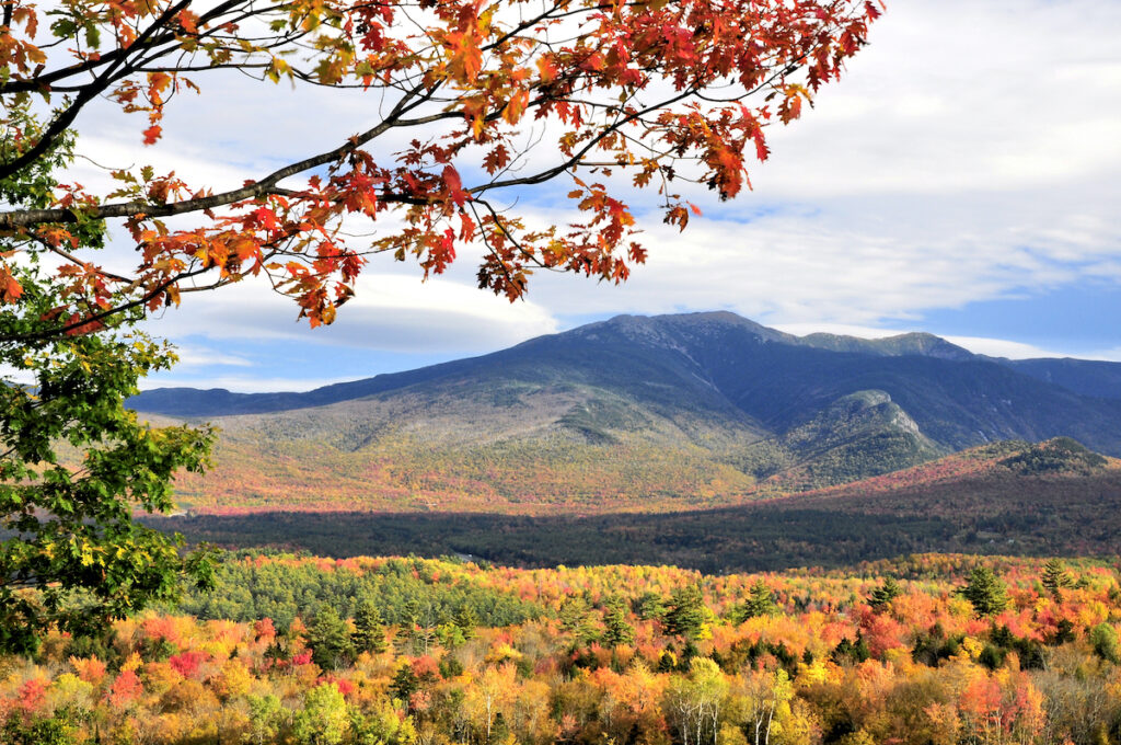 View from Sugar Hill, New Hampshire