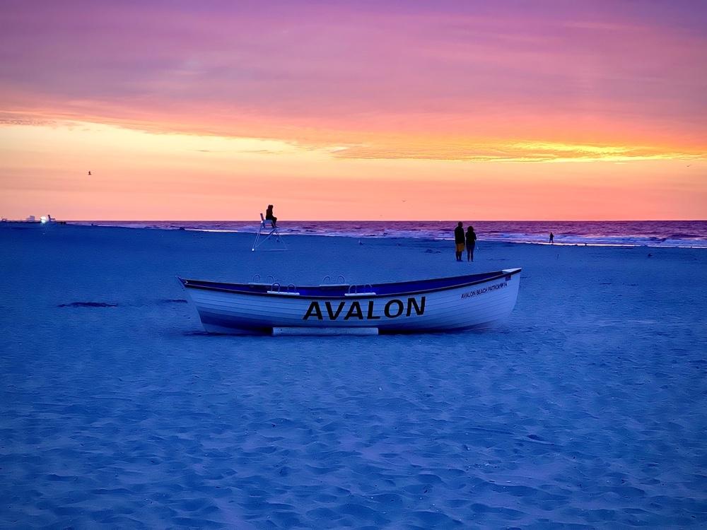 Sunrise in Avalon, New Jersey