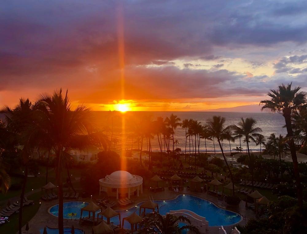 Sunset Maui Wailea Beach Fairmont Kea Lani Maui