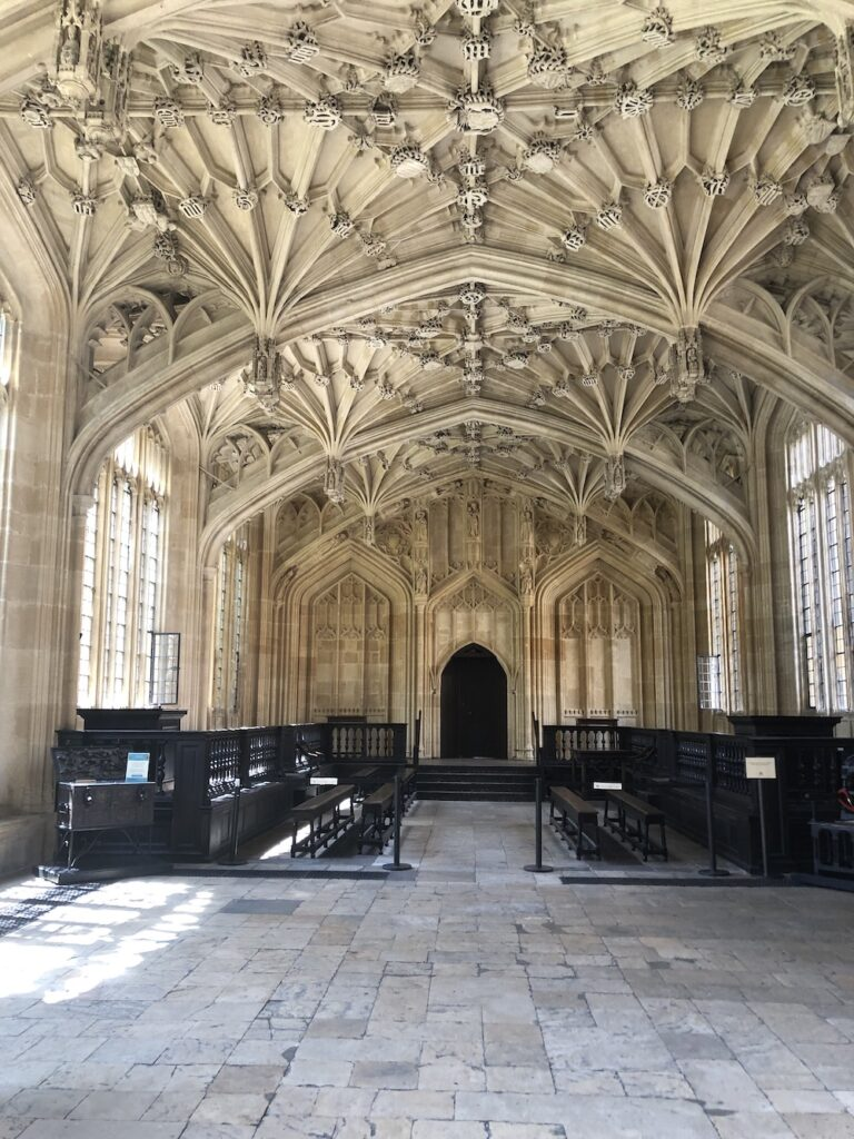 Divinity Hall in the Bodleian Library