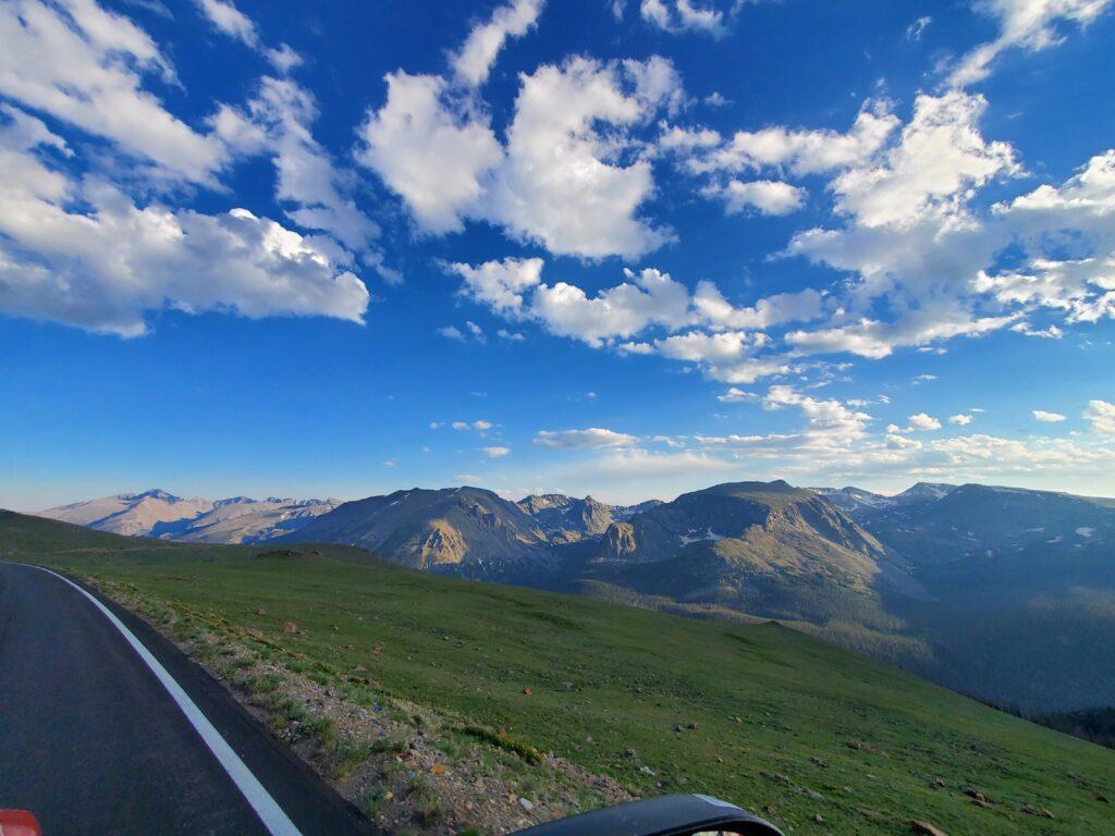 Driving Trail Ridge Road- Rocky Mountain National Park