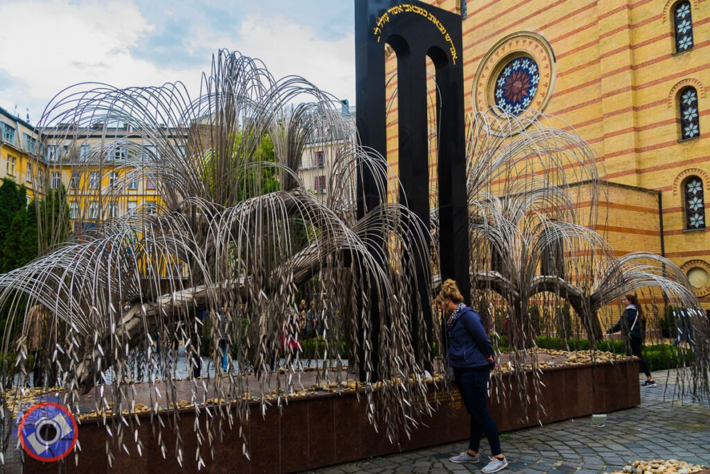 Tree of Remembrance at the Dohany Street Synagogue - Each Leaf is Inscribed with the Name of a Jew Who Perished During the Holocaust