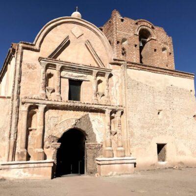 Tumacacori church front
