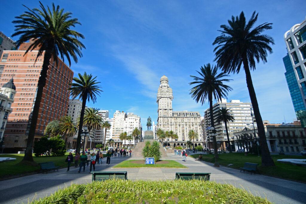 Montevideo, Uruguay Old City