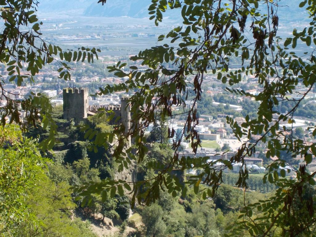 View of Merano from Trauttmansdorff Castle