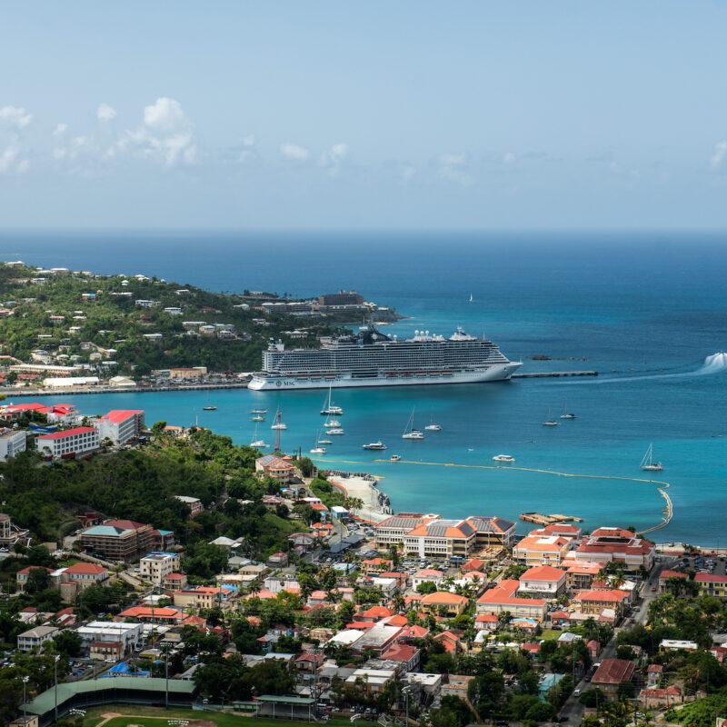 St. Thomas cruise ship